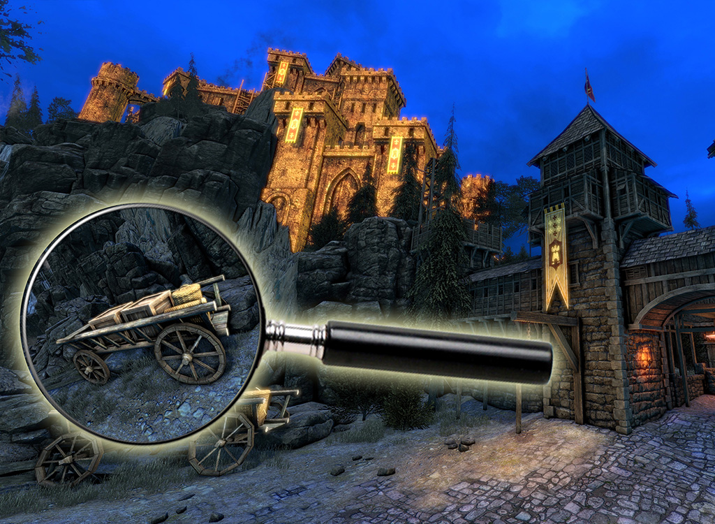 Search and find hidden objects in this 3D castle room escape adventure.
